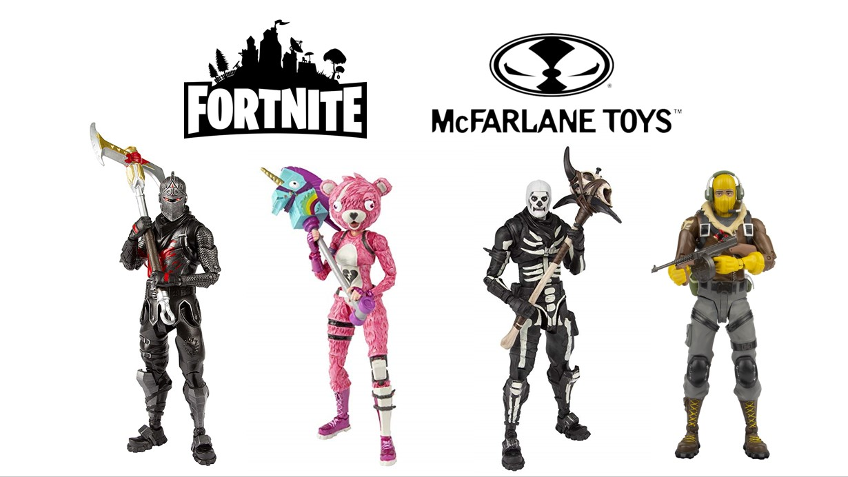 New batch of McFarlane Fortnite figures now available - more