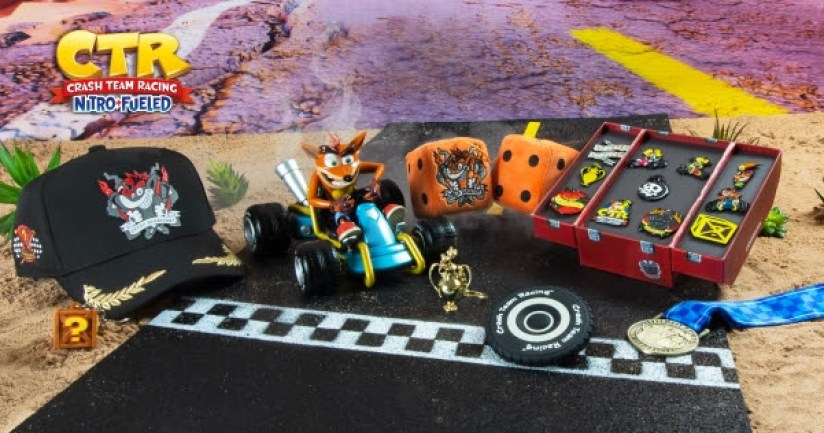 Crash Team Racing Nitro-Fueled Merchandise