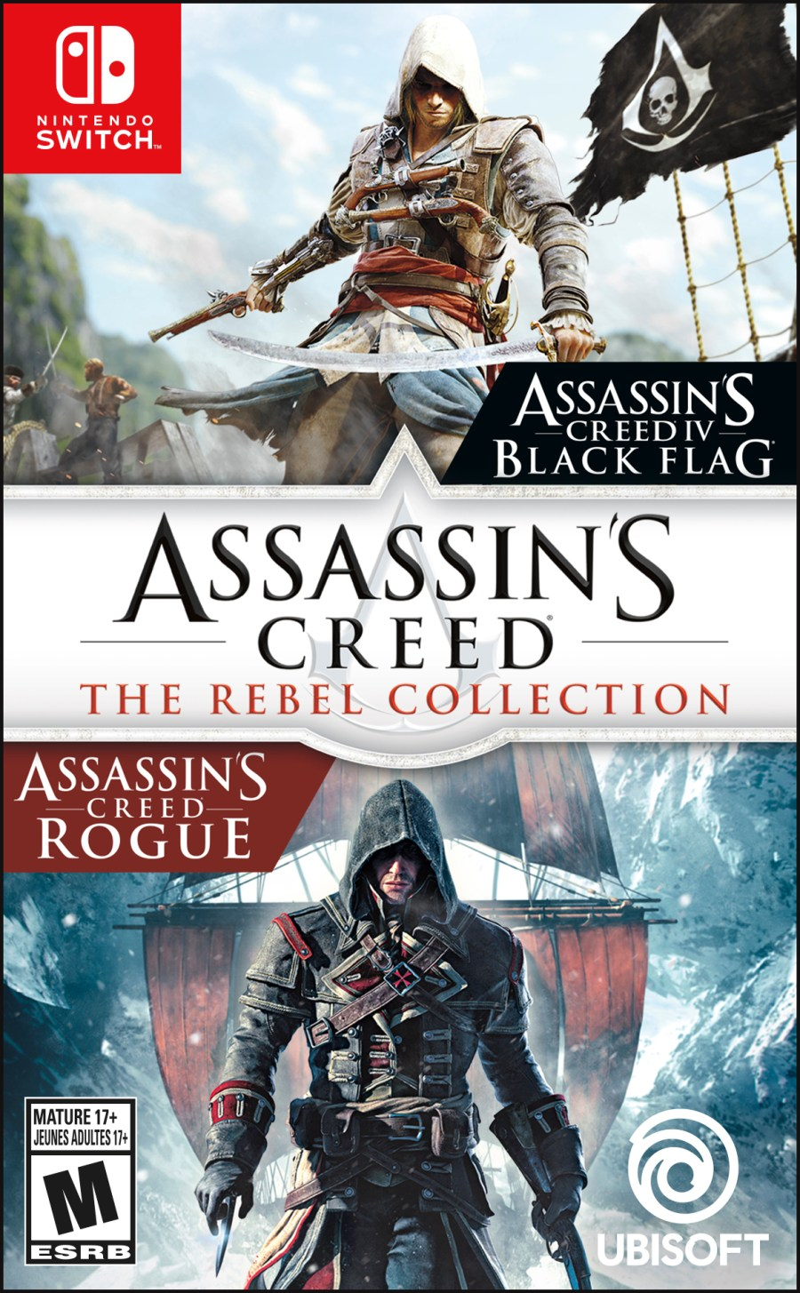Assassin's Creed: The Rebel Collection Switch Box Art