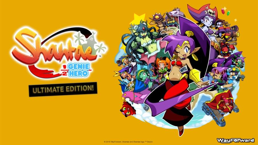 shantae half genie hero ultimate edition