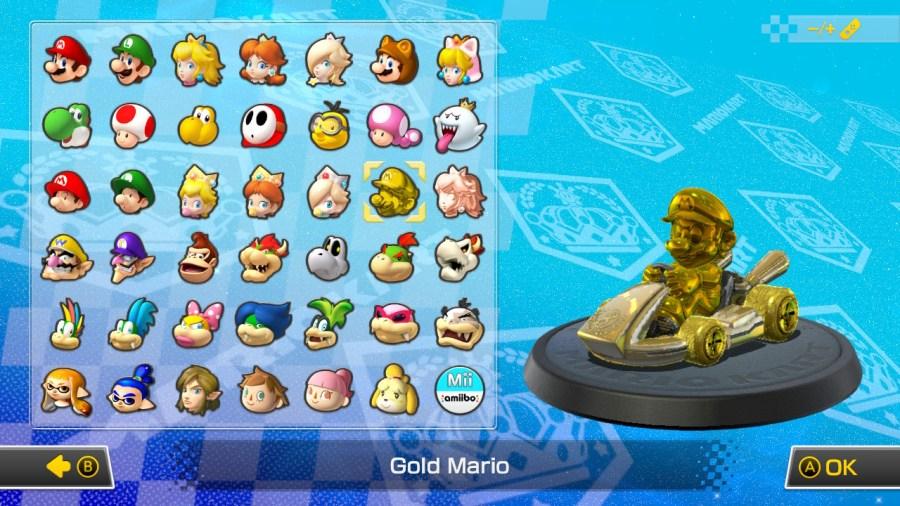 IMario Kart 8 Deluxe Gold Unlockables