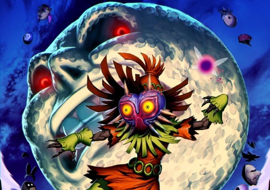 Majora's Mask is a darker Zelda game