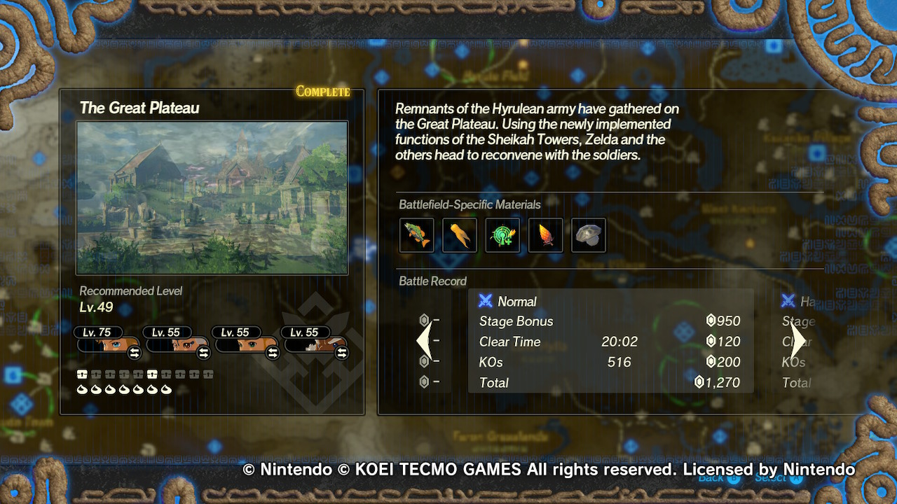 Hyrule Warriors Age Of Calamity Chapter 7 Korok Locations Miketendo64