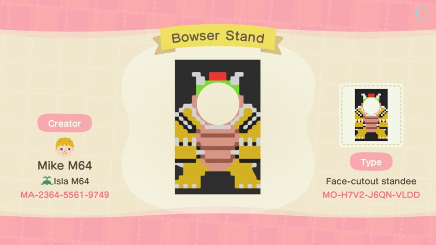 Bowser Standee