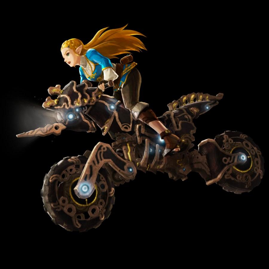 Zelda Master Cycle