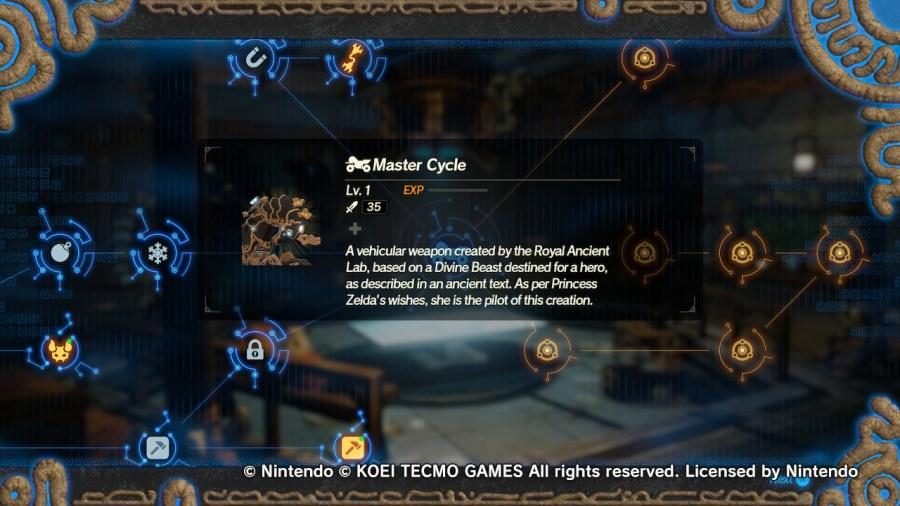 Zelda's Master Cycle