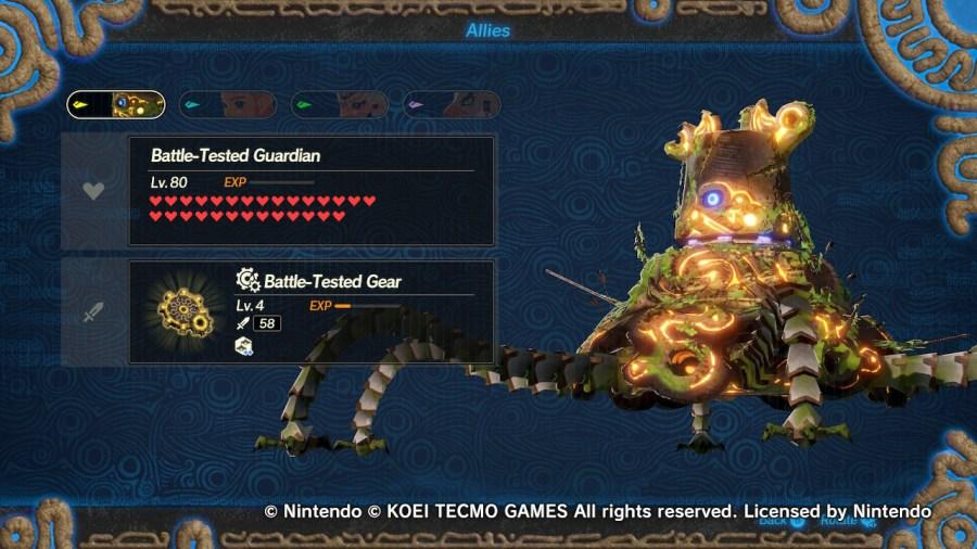 Battle-Tested Guardian