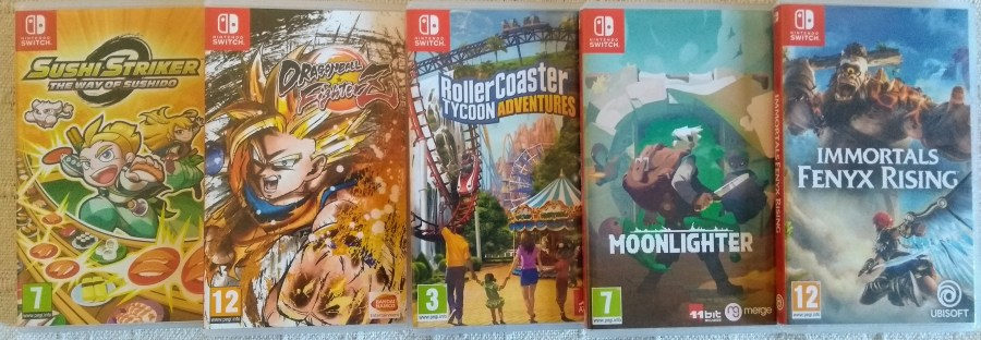 Collecting Switch Games
