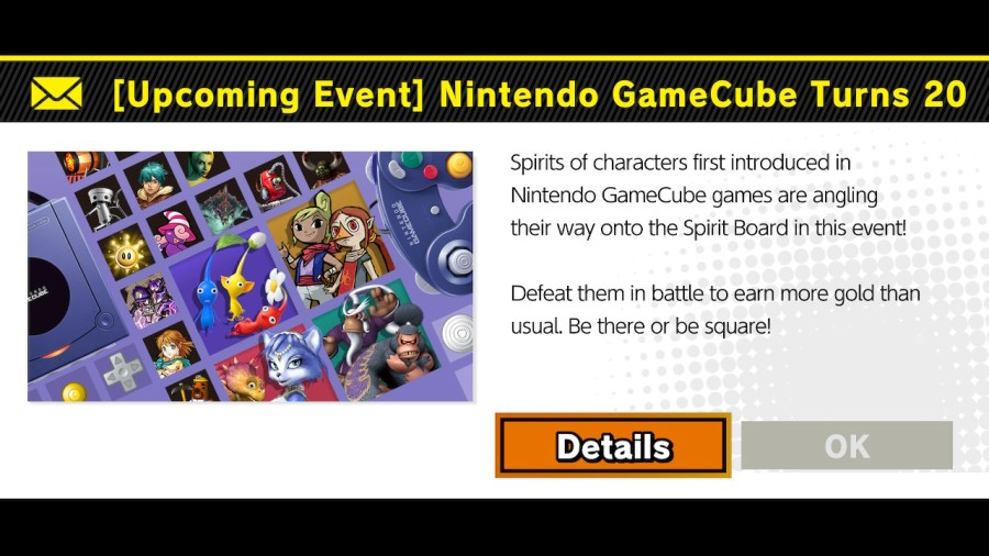 Nintendo GameCube Turns 20 Spirit Event