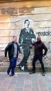 We found the Trololo guy in Krakow :)