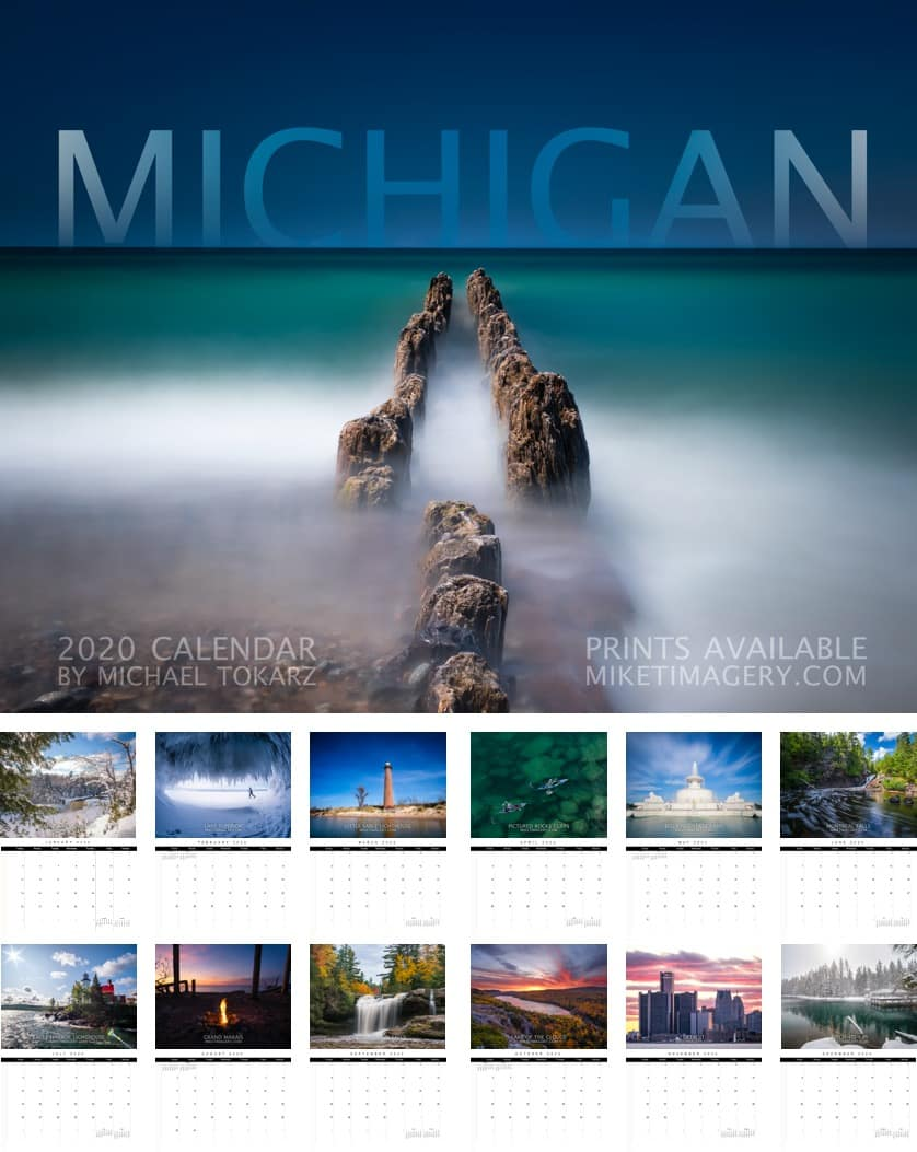 2020 michigan calendar