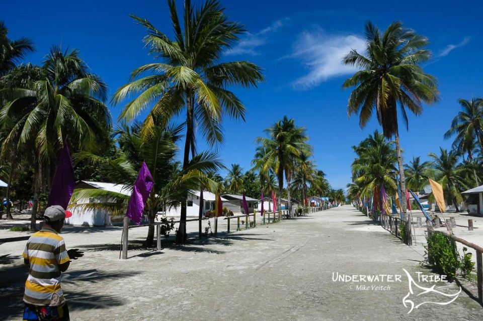Village Street, Raja Ampat