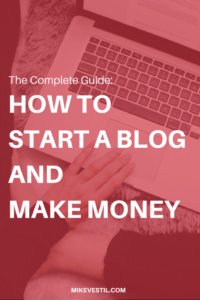 In this tutorial you will learn how to start a blog and make money in just 15 minutes!
