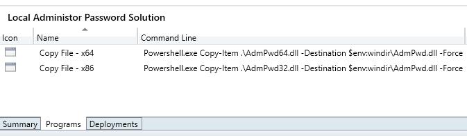LAPS_SCCM_CreateProgram3