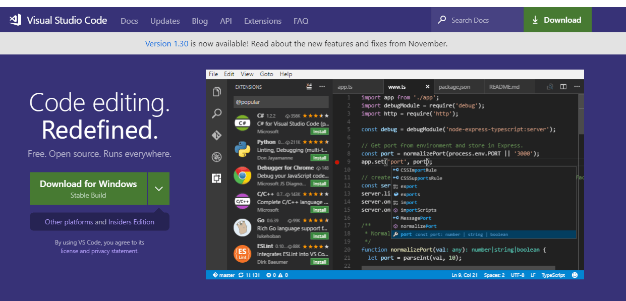 How to install Visual Studio Code and configure with Azure