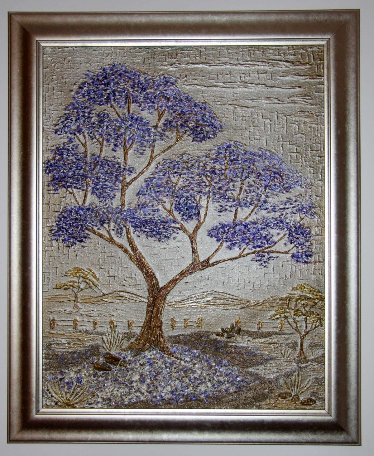 My grandmother's Rhodesian jacaranda