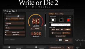 write or die 2 - screenshot