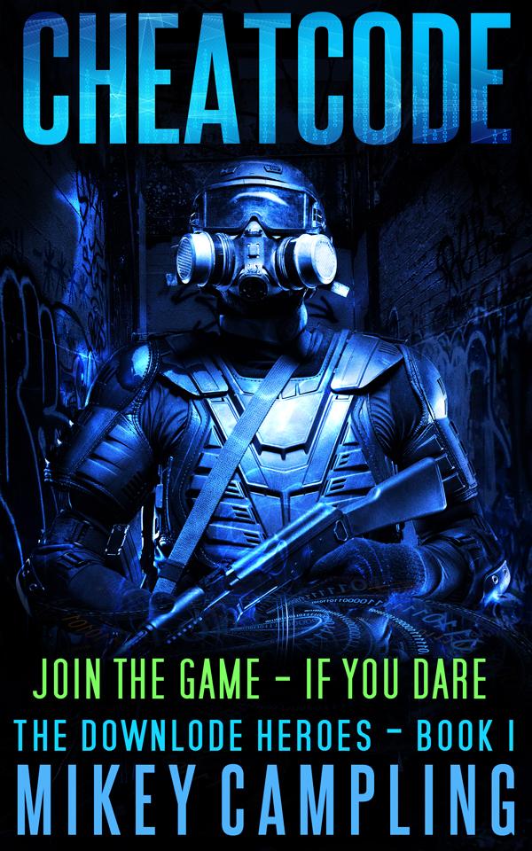 scifi book cheatc0de cyberpunk ebook cover