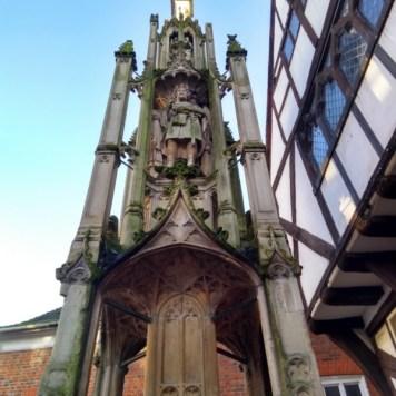 A buttercross. An impressive monument