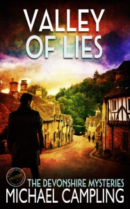 mystery book cover valley of lies