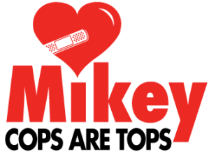 Mikey Cops Are Tops police station defibrillator program