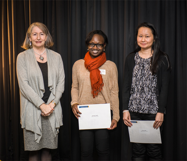 2012 Mikey Network Award recipients at Ryerson School of Nutrition