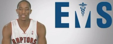 Toronto EMS Teams Up with the Toronto Raptors for CPR Awareness Campaign
