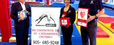 Gymnastics Energy Receives a MIKEY