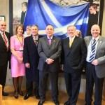 Hugh Heron Visits Scottish Parliament