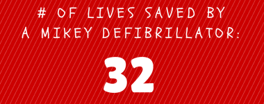 32nd Life Saved By A Mikey