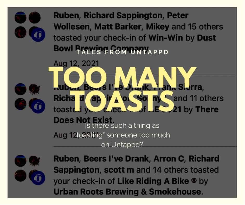 Untappd Toasts