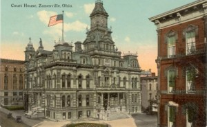 Zanesville Ohio courthouse