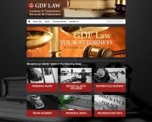 Website Screenshot GDF Law