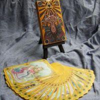神秘的でカッコいい…「ゼルダの伝説」テーマの手作りタロットカード