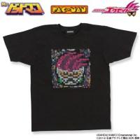 よ〜く見るとパックマンが…!?Mr.ドットマン「仮面ライダーエグゼイド×パックマン」Tシャツが発売に