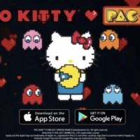 海外にて、ハローキティとパックマンのコラボ「Hello Kitty♥PAC-MAN」が展開!コラボグッズや期間限定アプリもめっちゃかわいい!