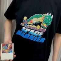 今日のゲームTシャツ:ファッションセンターしまむらの『スペースハリアー』&『ファンタジーゾーン』Tシャツ