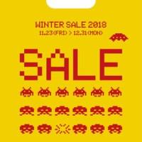 スペースインベーダーがタワーレコードをジャック!? タワーレコード「WINTER SALE 2018」11/23より開催決定!