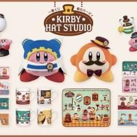 帽子屋さんのオリジナルデザインが超かわいい!一番くじ星のカービィ「KIRBY HAT STUDIO」が9/6より発売に!