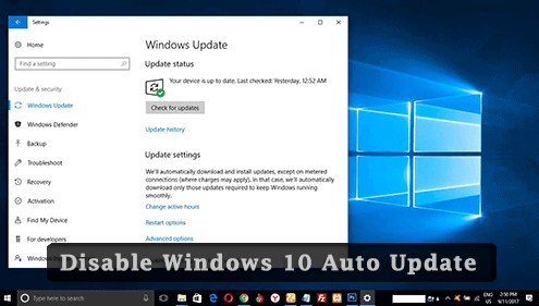 disable-automatic-updates-windows-10
