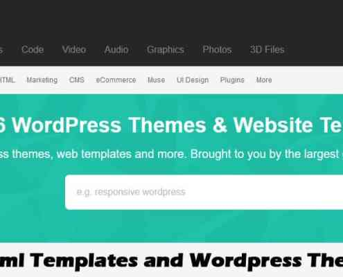 Themeforest html Templates and Wordpress Themes Download
