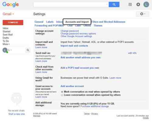 Merge two or more Google accounts