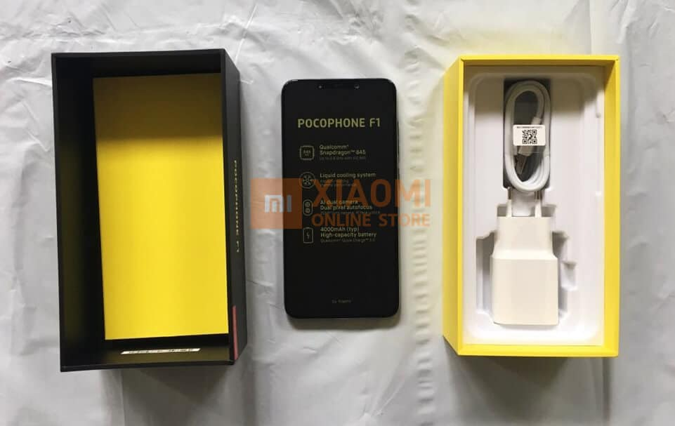 Xiaomi Pocophone F1 charger