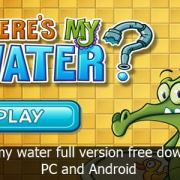 wheres my water full apk download