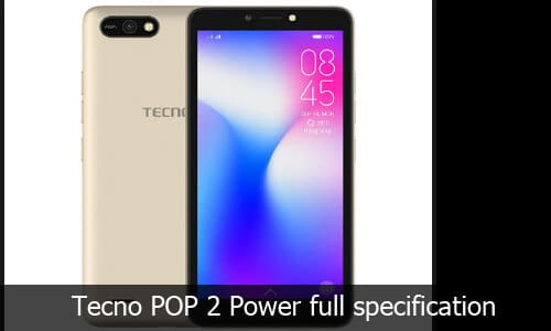 Tecno POP 2 Power Review, Specification and Price