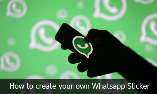 Whatsapp Stickers - How to create your own Whatsapp Stickers