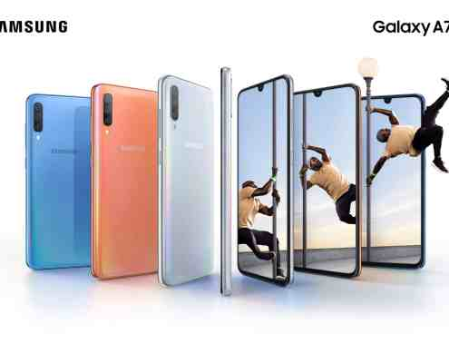 Samsung Galaxy A70 with 32MP Triple Camera - Specification