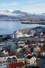 Bela Reikjavik na Islândia