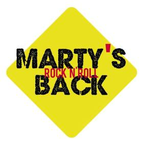 Logo Marty's Back