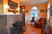 260 S. Main Den Fireplace